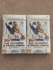 HOBBY 2018 Topps USA U.S. Olympic Hopefuls & Paralympics (2x) Box LOT
