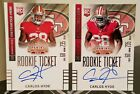 2014 Panini Contenders Football Rookie Ticket Autograph Variations Guide 121
