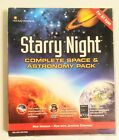 Starry Night Complete Space Astronomy Pack PC MAC DVD Deluxe Edition Imaginova