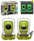 SDCC 2019 Funko The Simpsons Kang and Kodos 2 Pack Official Sticker In Hand