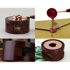 Retro Sealing Wax Melting Furnace Sealing Wax Solid Wood Spoon Candle Accessorie