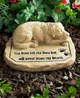 Dog Memorial Stone You have left our lives but will never leave our hearts