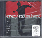 Every Mans Hero-No One Ever Said A Word CD Christian Punk Rock(Factory Sealed)