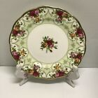 RARE 2003 ROYAL ALBERT OLD COUNTRY ROSES CAMEO GREEN SALAD LUNCHEON PLATE