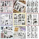 Clear Transparent Stamps Stamp Scrapbooking Embossing Christmas Craft Background