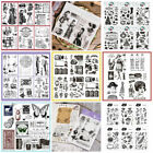 Clear Transparent Stamps Stamp Scrapbooking Embossing Christmas Craft