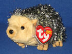 TY CHUCKLES the HEDGEHOG BEANIE BABY - MINT with MINT TAG