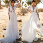 Women Bridesmaid Wedding Long Evening Cocktail Party Prom Gown Maxi Tulle Dress