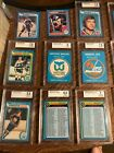 Wayne Gretzky Complete 79 80 O-PEE CHEE set with top 13 cards graded by BGS