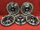 Vintage Set Of 5 1956 Dodge 15 Hubcaps Coronet Custom Royal Lancer Mayfair GC