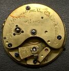 English Fusee Watch Movement Fred Bryant LONDON