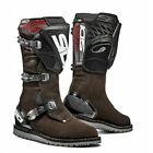 Sidi Trials Zero Motorcycle Boots Brown Size 43