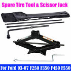 Spare Tire Tool For Ford 03 07 F250 F350 F450 F550 Super Duty Kit + Scissor Jack