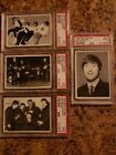 1964 TOPPS BEATLES B&W 4 3RD SERIES CARDS # 153 # 143 #161 #157 RARE CARD PSA 9