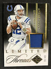 Andrew Luck Signs Deal with Upper Deck, Revealed as Trade UD Mystery Redemption 9
