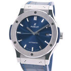 HUBLOT Classic Fusion 511.NX.7170.LR Automatic Navy Silver Stainless Men's watch