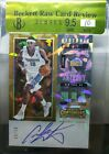 Carmelo Anthony 2017 18 Contenders Historic Rookie Ticket Auto #'d 9 15 Cracked