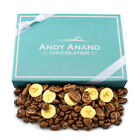 Andy Anand Belgian Milk Chocolate covered Banana Chips with Greeting Card 1lbs