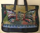 KELLY RAE ROBERTS Unleash Your Joy Butterfly Tote Shoulder Bag Purse
