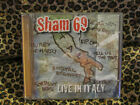 ONE CENT CD:  SHAM 69- Live in Italy CD