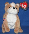 TY FEARLESS the DOG BEANIE BABY - UK EXCLUSIVE - MINT with MINT TAGS