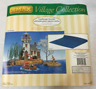 Lemax Ocean Display Mat Water Village Accessories Sea Lake 18x34 Landscape