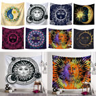 Sun Moon Tapestry Indian Wall Hanging Bohemian Hippie Bedspread Throw Decor New
