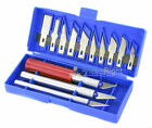 17 Piece Hobby Knife Set Exacto Style Razor for Model Making Crafts Mat Cutting