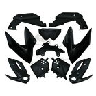 Black Painted ABS Plastic Fairing Bodywork Cowl kit For Yamaha XJ6 2009-2012 11