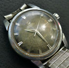 VTG 1950s OMEGA SEAMASTER AUTOMATIC WATCH S. STEEL REF 2846 2848 CAL 501