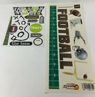 Football Stickers Scrappin Sports  More NEW