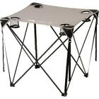 Foldable Lightweight Durable Camping Quad Table Grey