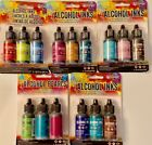 TIM HOLTZ 15 COLOR PACKAGE OF ALCOHOL INKS AND ALCOHOL PEARL INK PACKAGE 6
