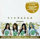 SCANDAL STANDARD CD+Member Print Original T-shirt Limited Edition YM JAPAN F/S
