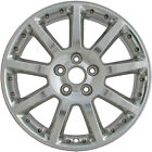 Chrome Plated 9 Spoke 18X8 Factory wheel 2005 2008 Cadillac STS