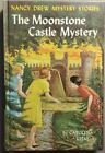 40 NANCY DREW MYSTERY STORIES THE MOONSTONE CASTLE MYSTERY 1963 VG