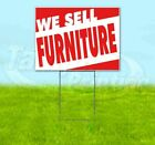 We Sell Furniture Yard Sign Corrugated Plastic Bandit Lawn Decoration Usa