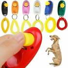 Pet Dog Puppy Cat Training Button Click Clicker Slient Obedience Wrist Strap HOT