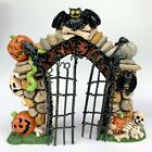 Creepy Hollow Dept 56 Lemax Halloween Villages Spooky Accessories Cemetery Gate
