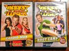 Lot Of 2 The Biggest Loser Workout DVDs Boot Camp and Cardio Max