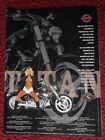 1999 Print Ad TITAN Gecko RM Motorcycle ~ Sexy Girl Own What Others Dream Of
