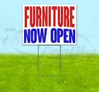 Furniture Now Open Yard Sign Corrugated Plastic Bandit Lawn Decorations