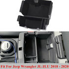 Fit For Jeep Wrangler JL JLU Center Console Armrest Storage Box Tray Practical