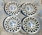 Set of 4 OEM 1982 1987 Chevy Cavalier Chevette 13 Hubcaps Wheel Covers 14032476