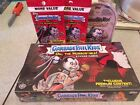 Garbage Pail Kids Oh The Horrorible Set! Collectors & Blaster Box + 2 Fat Packs!