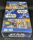 2010 Topps Star Wars Dog Tags Factory Sealed Retail Box - 24 Packs