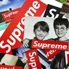 100 Pcs Supreme Stickers Skateboard Hypebeast Stickers for Laptop Luggage lot