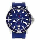 Ulysse Nardin Maxi Marine 260-32-3A 18k White Gold Blue Dial 43mm Automatic