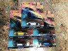 Hot Wheels 2019 Car Culture Street Tuners Series Set of 5 Cars 1 64 Subaru RX7