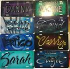 Personalized Airbrushed license plate Custom Airbrush Auto Tags FREE Shipping
